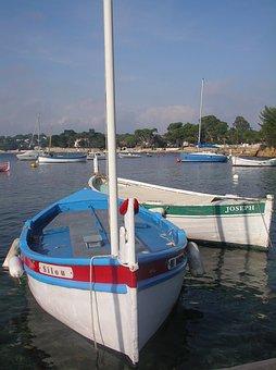 Boat, Meditteranean Sea, Italy, France, Sea, Sail Boat