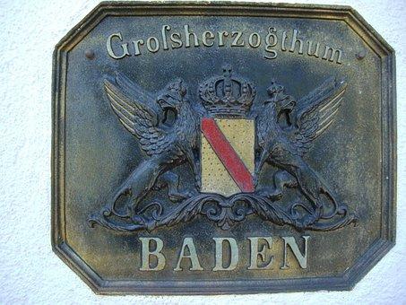 Shield, Board, Coat Of Arms, Swim, Grand Duchy
