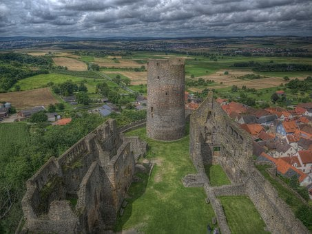 Castle, Architecture, Towers, Fortress, Bulwark, Rush