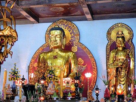 Viet Nam, Temple, Boudda, Celebration, Religion