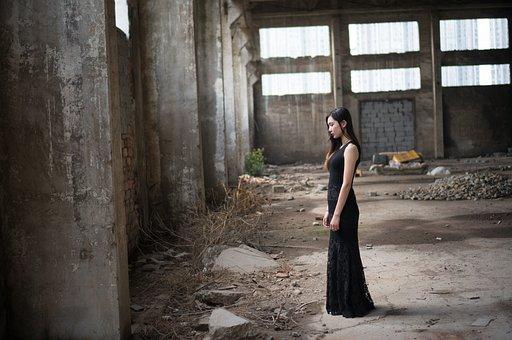Black Skirt, Girls, Wearing A Black Skirt Girl