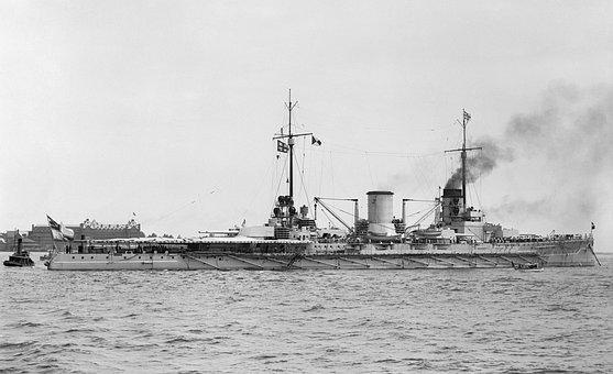 Warship, Battleship, Sms Moltke, Hampton Roads, 1912