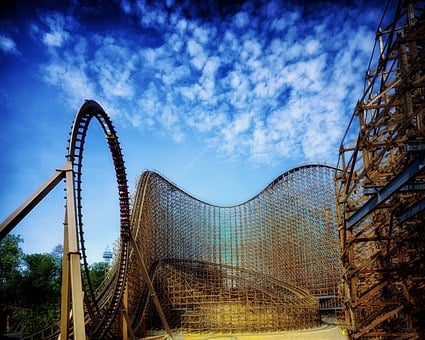 King's Island, Ohio, Roller Coaster, Amusement Park