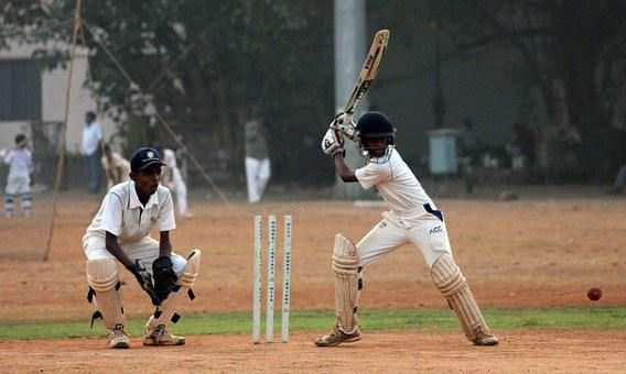 Cricket, Batsman, Ball Game, India, Competition, Player