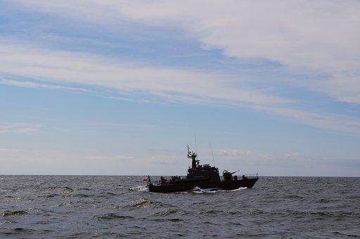 Warship, Torpedo Boat, Baltic Sea, Ship, Boot