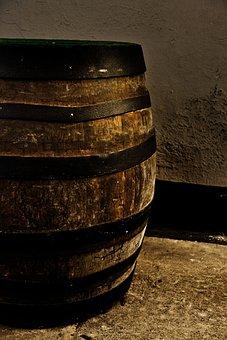 Beer, Wood, Alcohol, Barrel, Drink, Old, Cellar, Keg