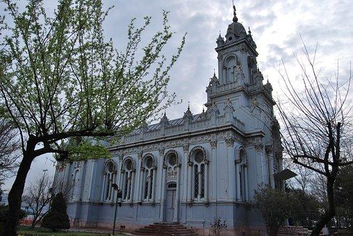 Istanbul, Turkey, Balat, Church, Iron, Bulgarian Church