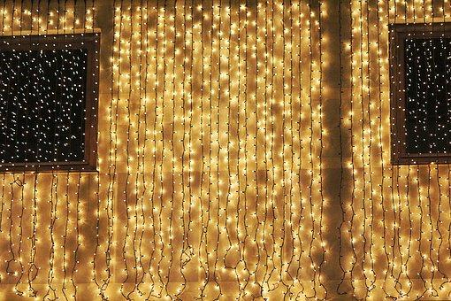 Christmas Lights, Lamp, Led Lighting, Christmas