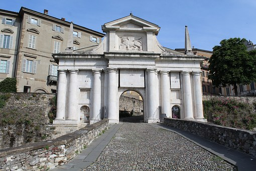 Bergamo, S Door, James, City Entrance, High City