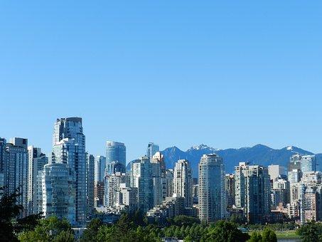 Vancouver, British Columbia, Canada, Buildings, City