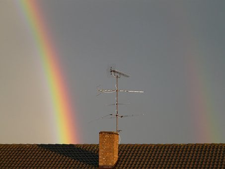 Rainbow, Double Rainbow, Mirroring, Refraction, Double