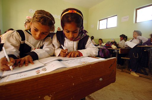 Iraq, Children, School, Learning, Education, Classroom