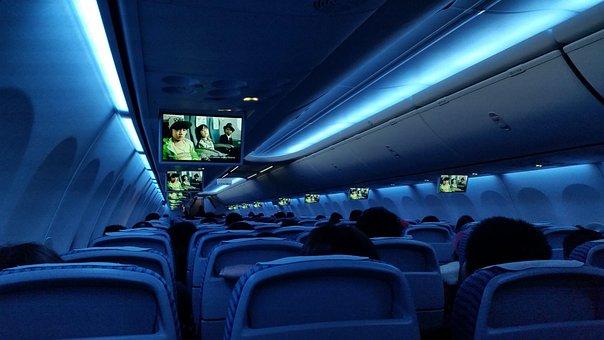 Plane Board, Empty Plane, Board, Travel, Transportation