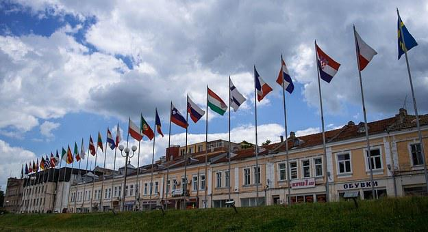 Flags, Shumen, City, Bulgarian, Travel