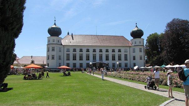 Tüßling Castle, Tüßling, Castle, Garden, Leisure