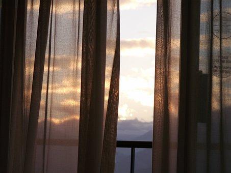 Balcony, View, Hotel Balcony, Hotel Window, Window