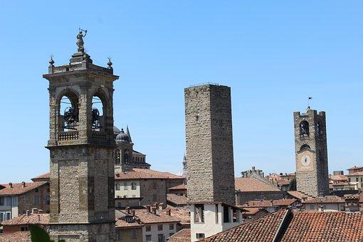 Bergamo, Lombardy, Italy, High City, Bergamo Alta