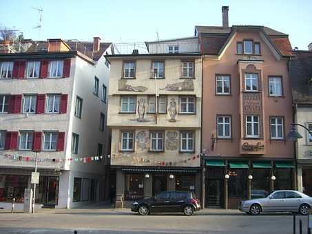 Ravensburg, Downtown, Middle Ages, Marketplace
