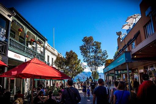 Downtown, Queenstown, New Zealand, Buildings