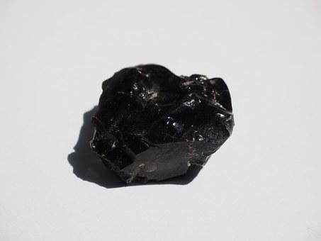 Obsidian, Stone, Volcanic, Rocks Glass