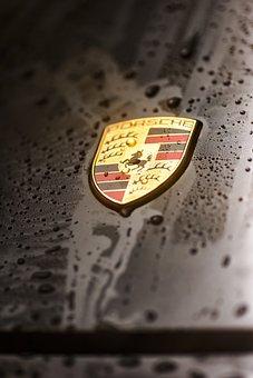 Porsche, 911, Carrera, 4s, Logo, Badge, Emblem, Coat