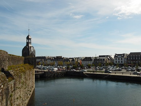 Gone Wrong, Walled City, Concarneau, Port, Brittany