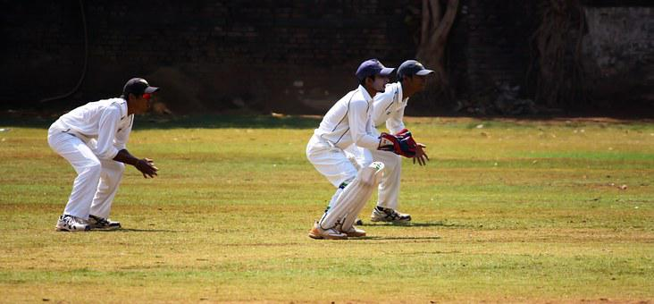 Cricket, Wicket, Keeping, Practice, Ball Game, India