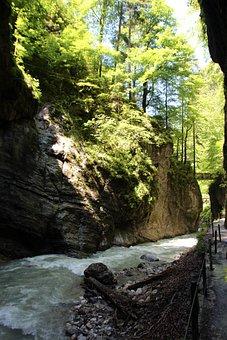Partnachklamm, River, Racing, Garmisch Partenkirchen