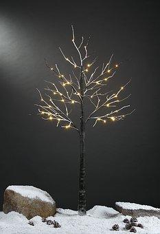 Led Lights, Snow Tree, Snow Tree Grafting, Led Tree