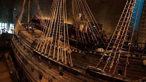 Vasa Museum, Stockholm, Warship, Setting
