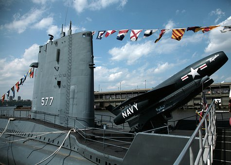 Submarine, Submarine Boat, Warship, Us Navy, Military