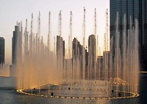 Water Games, Dubai, Dubai Fountains