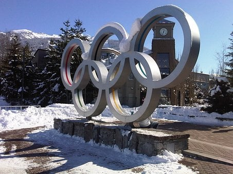 Olympic Rings, Whistler, Olympics, 2010 Olympics