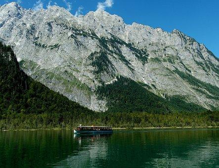 Königssee, Berchtesgaden, Massif, Berchtesgaden Alps