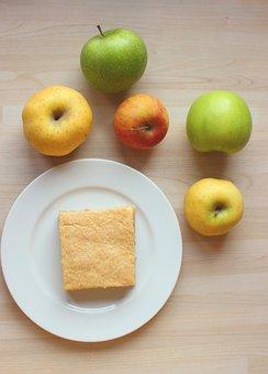 Cake, Apple, Dessert, Kitchen, Pastry, Fruit, Food