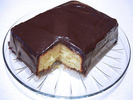 Chocolate Ganache, Citrus Flavored Cake, Dessert, Food