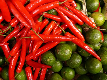 Chili Lime, Red, Green, Sharp, Sour, Citrus Fruits