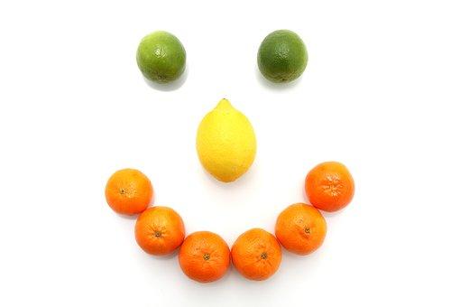 Fruit, Food, Citrus, Smile, Nose, Eyes, Lemon, Lime