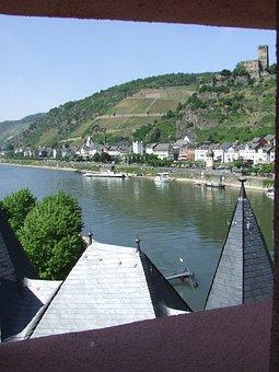 Rhine, Palatinate, Germany, Pfalzgrafenstein, Castle