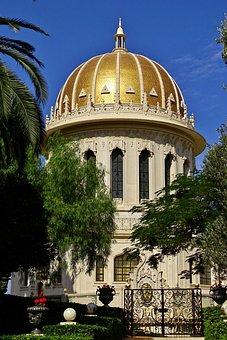 Israel, Haifa, Bahá ' í Faith, Bahá ' í Weltzentrum