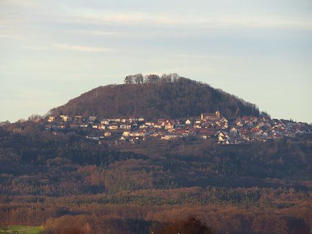 Hohenstaufen, Mountain, Witness Mountain, Swabian Alb