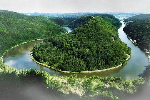 Saar Loop, Saarland, Nature, Orscholz, Landmark, River