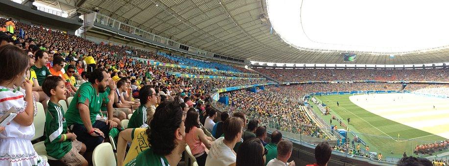 Football, Lawn, Crown, Game, Stadium, Field, Castellan