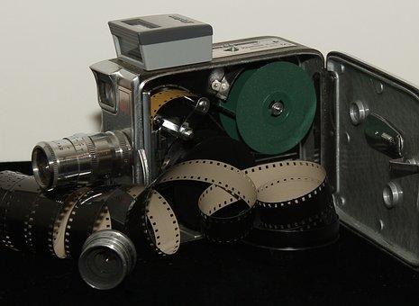 Antique, Camera, Film, Lenses, Keystone, Olympic, K-33
