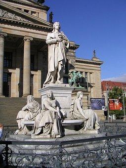 Schauspielhaus, Monument To Schiller, Gendarmenmarkt