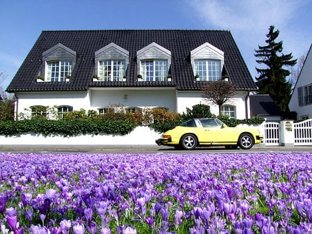 Villa, Home, Dream Home, Luxury, Porsche
