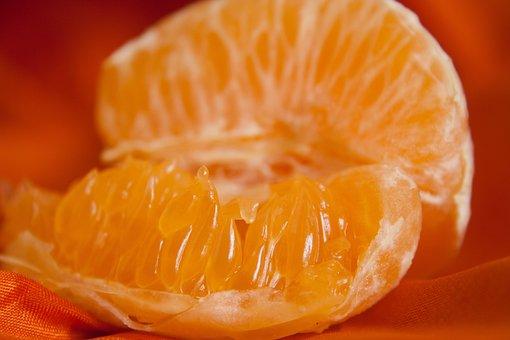 Orange, Sections, Fruit, Fresh, Juicy, Ripe, Citrus