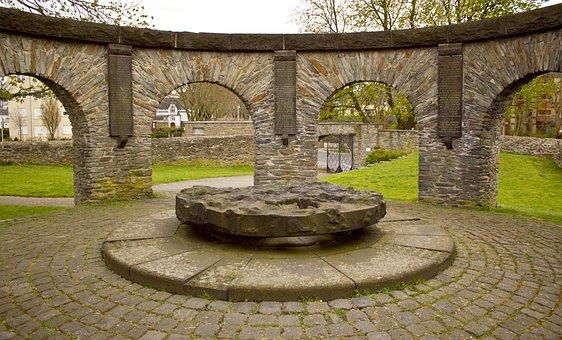 Architecture, Millstone, Rhine, Rotunda, Sand Stone