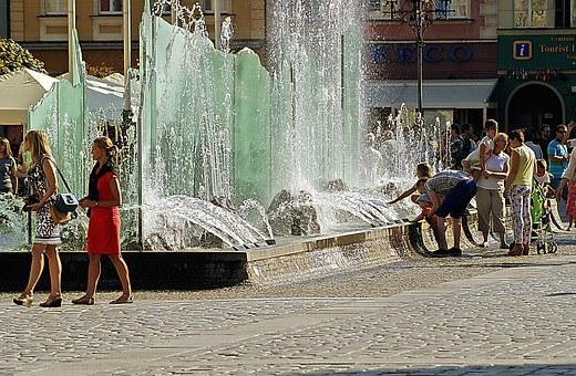 Wrocław, Fountain, The Market, The Old Town, Sculpture