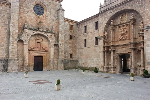San Millán De Cogolla It, La Rioja, Spain, Church